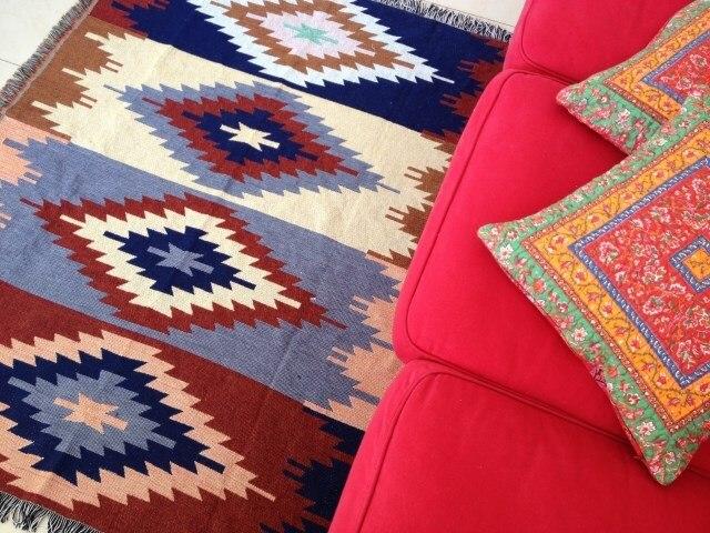 víceúčelové koberce a koberce rohožka kilim koberec do ložnice - Bytový textil