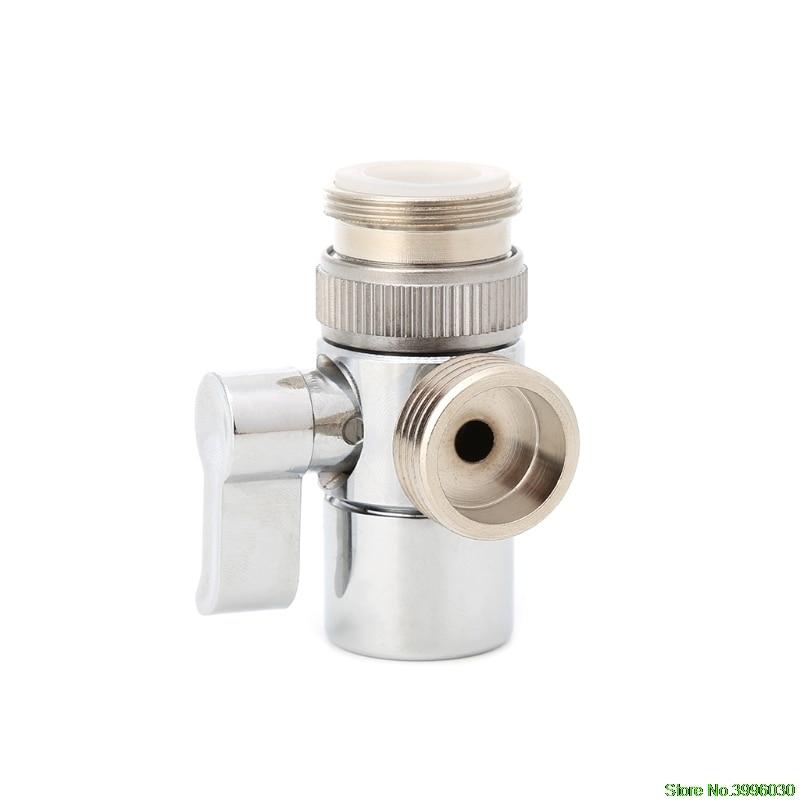 bathroom kitchen brass sink valve diverter faucet splitter to hose rh aliexpress com