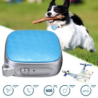 KROAK Mini GPS Tracker Pet Collar Real Time Locator Kid Cat Dog 2G SIM Tracking Device
