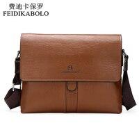2015 Hot Sell Famous Brand Design Leather Men Bag Casual Business Leather Mens Messenger Bag Vintage