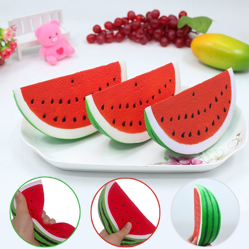 Squeeze Toy Watermelon Squshy Slow Rising Lovely Soft Stress Relief Christmas Gift