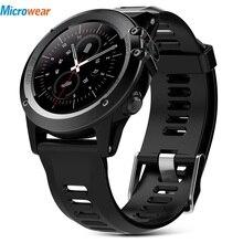 Microwear H1 Smart Watch Android 4.4 Waterproof 1.39″ MTK6572 BT 4.0 3G Wifi GPS SIM For iPhone Smartwatch Men Wearable Devices
