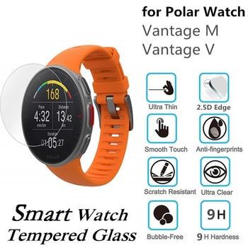 100PCS Tempered Glass for Polar Vantage M Screen Protector Scratch Resistant Protective Film for Polar Vantage V фото