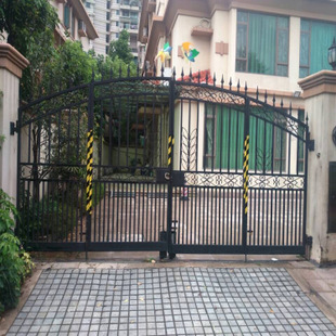 Wrought Iron Side Gates For Sale Solid Metal Gates Ornamental Wrought Iron