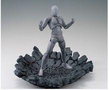 صدع للصدمات الصخرية المتأثرة بشكل خاص لـ Kamen Rider 1/12 1/10 ملحقات نموذج لعبة مجسم