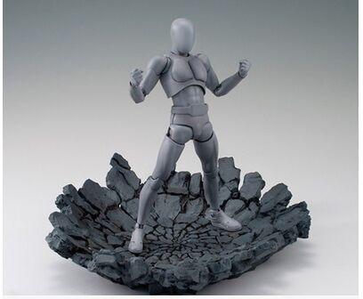 Special Effect Impact burst rock shock crack for Kamen Rider 1/12 1/10 figure toy model Accessories