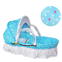Woven Baby Cradle Bassinet for Newborn Sleeping Basket Crib Bassinet Cradle Travel Car Seat Cradle Portable Baby Bassinet Basket crib bed portable baby cradle extended edition baby sleeping basket newborn bed mother and baby wholesale