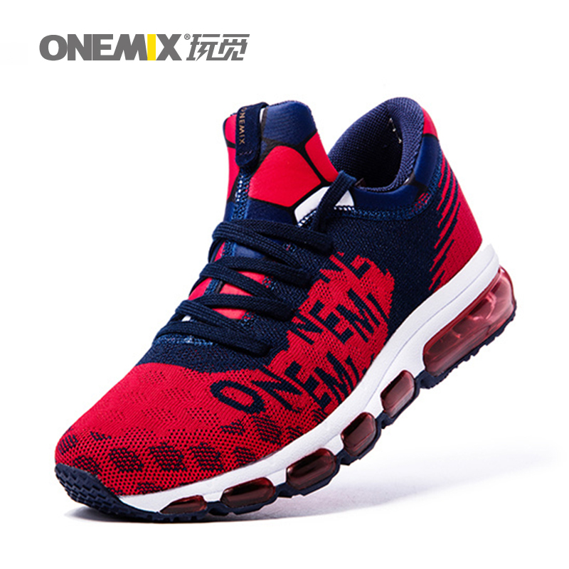ONEMIX Mens running Shoes Outdoor Sport Sneakers Damping Male Athletic Shoes zapatos de hombre Men jogging shoes size 35-46