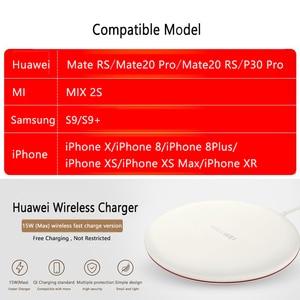 Image 2 - شاحن هواوي اللاسلكي 15 وات CP60 27 وات CP61 متوافق مع Mate 40 30 20 RS P40 P30 Pro iPhone X 8 plus XS Max سامسونج S20 S10 S9