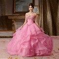 Rosa vestidos quinceanera 2017 vestidos de 15 años sweet 16 vestidos rosa vestidos quinceanera barato