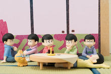 4.5 cm 6 sztuk/partia Matsuno Osomatsu Karamatsu Matsuno sextuplet Q ver. doll model Figurka Toy collection kreskówki prezent(China)