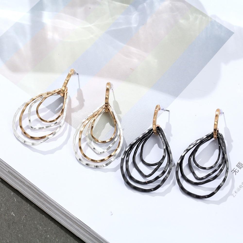 New Arrival Fashion Women Earrings Vintage Jewelry Wholesale Dangle pendientes brincos Hotsale earrings for Women 2018 New in Stud Earrings from Jewelry Accessories