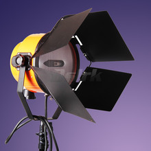 New 2000W Yellow Head Spotlight Fresnel light Continuous Studio Video Photo Light free shipping