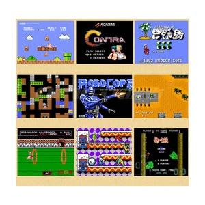 Image 5 - Video Game 620 Classic Games AV Port Retro Mini TV Handheld Family Recreation Video Game Console US Plug Dual Gamepad Player