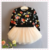 2016-2-6Y-Toddler-Girls-Kids-Tutu-Dress-Long-Sleeve-Floral-Sweatshirts-Dresses-Girl-Clothes-Autumn