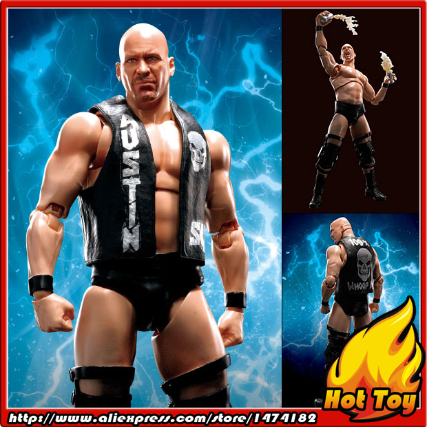 100% Original BANDAI Tamashii Nations S.H.Figuarts (SHF) Action Figure - Stone Cold Steve Austin stone cold