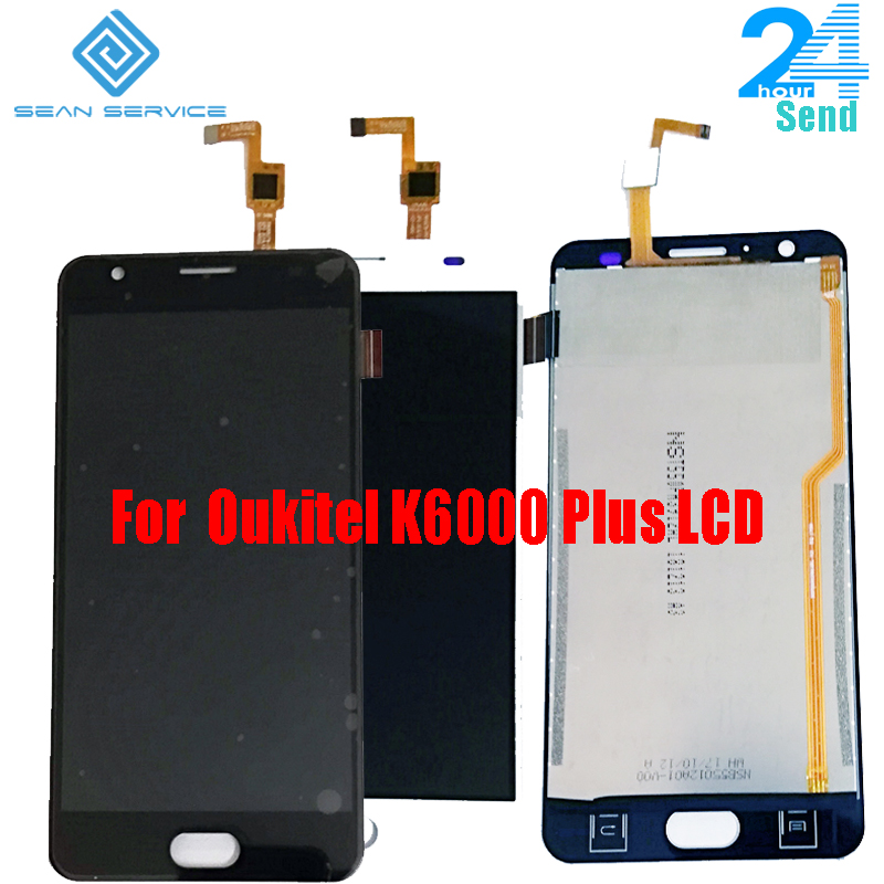 100% Oukitel K6000 Plus LCD Display And Touch Screen 5.5