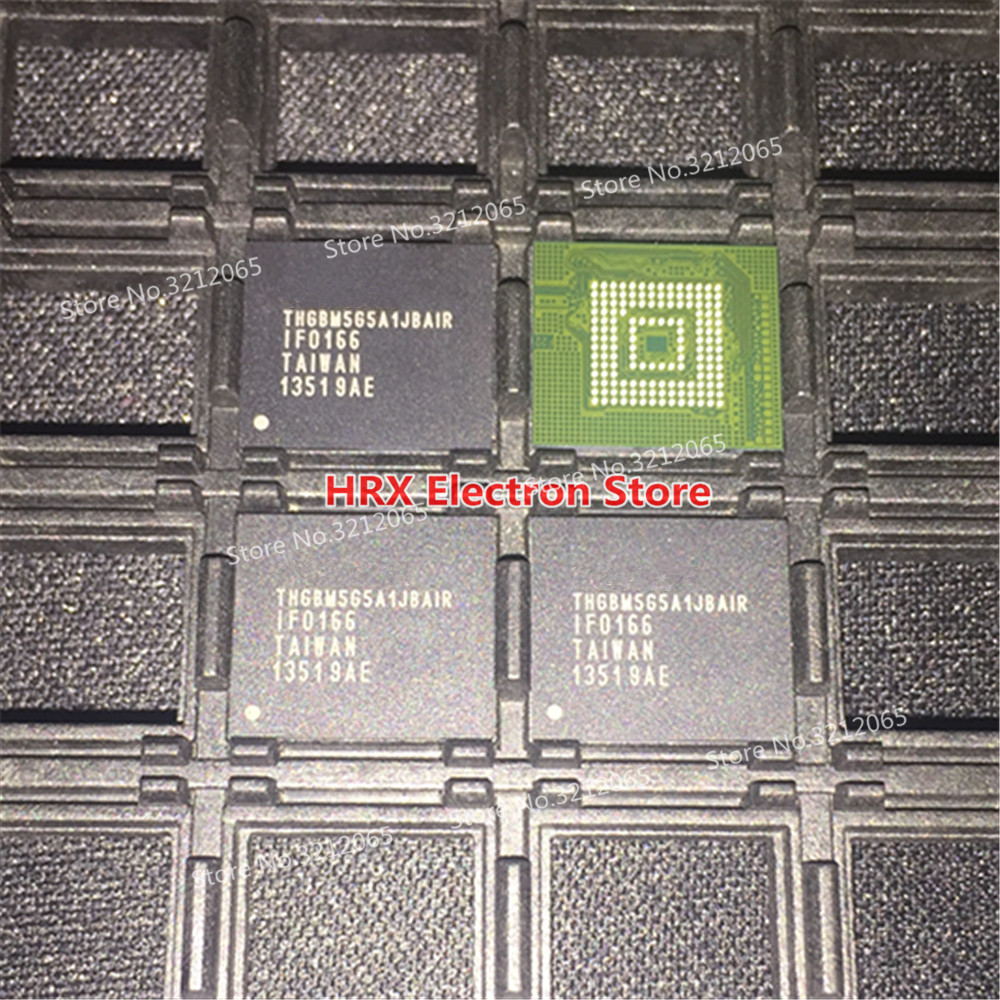 100% New Original THGBM5G5A1JBAIR BGA MMC THGBM5G5A1JBA1R