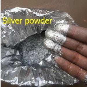 Image 4 - Super shiny silber Farbe pulver Pigment für Hohe Grade Dekoration, Glitter Dekorieren material, Farbe Pulver Silber, 50 gr/los