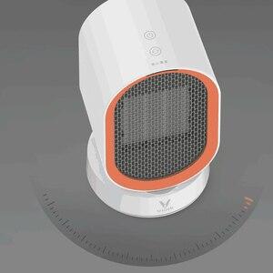 Image 4 - Youpin Viomi chauffage électrique Mini ventilateur chauffage bureau chaud/froid vent modèle Portable bureau plus chaud Machine hiver maison bureau