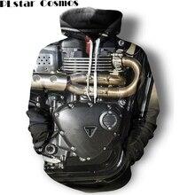 PLstar Cosmos Männer/frauen Hoodies 3d Gedruckt unisex Hoodies Motorrad Teile Graphic Pullover Mode streetwear Homme sweatshirt