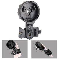 elescope Phone Adapter Quick Aligned Cell Phone Digiscoping Adaptor Mount Compatible with Spotting Scope Binoculars Monocular,