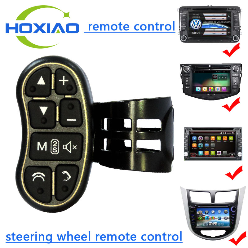 Control-Key Steering-Wheel Universal Wireless Car-Navigation To DVD Applicable Any-Brand