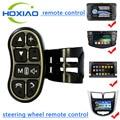 Volante del coche Universal de Control remoto inalámbrico Tecla de control Aplicable a cualquier marca de navegación DVD del coche de dirección de control