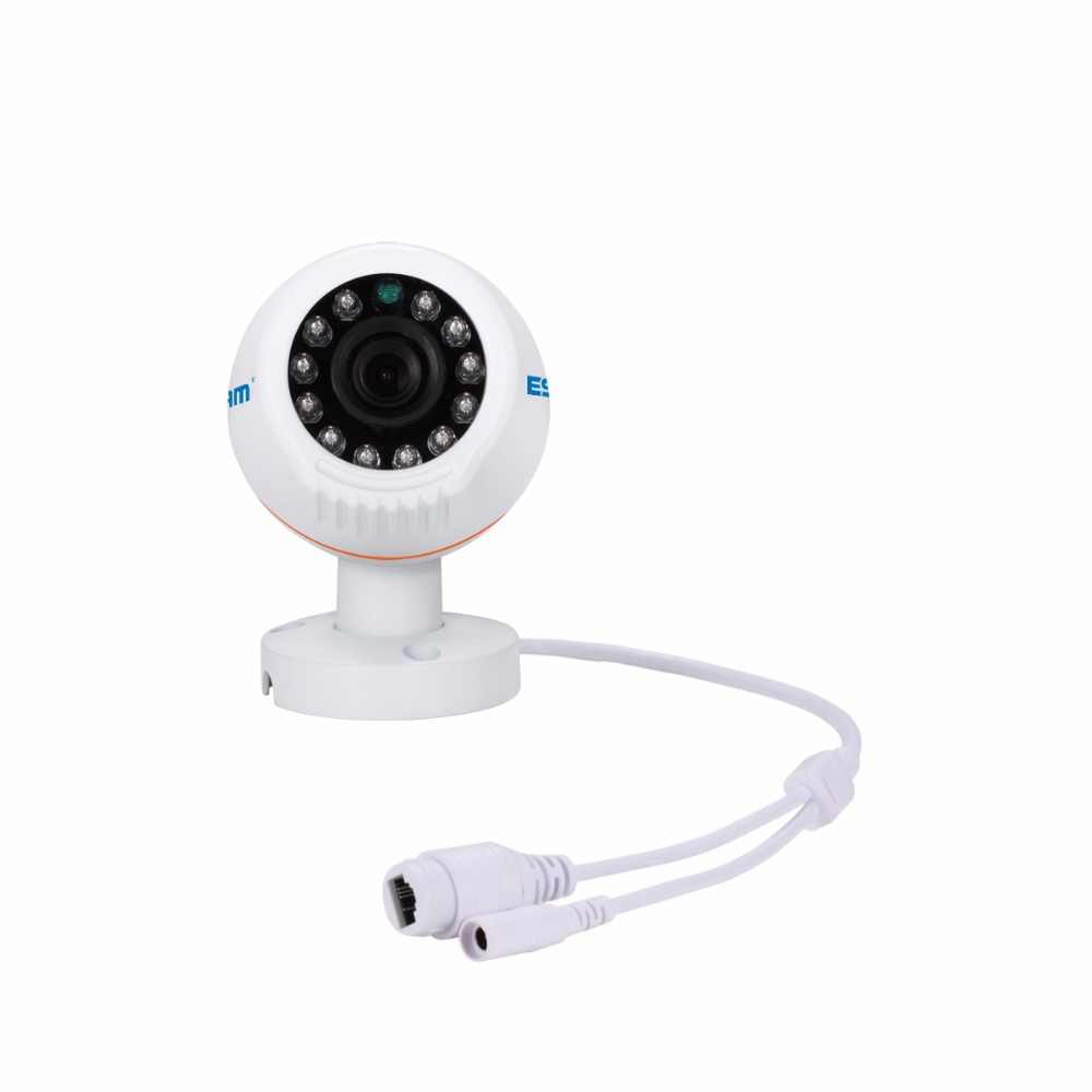 ESCAM PNK805 HD 1080 p 8CH POE NVR безопасности Системы с детектор движения, сигнализация запись ONVIF IP66 Водонепроницаемый пуля ИК Камера
