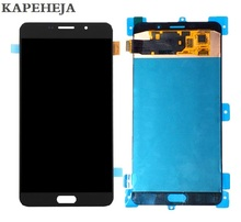 цена на Super AMOLED LCD Display For Samsung Galaxy A9 Pro A9100 A910/ A9 A9000 A900 LCD Display Touch Screen Digitizer Assembly