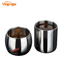 VOGVIOG 2017 Hot Selling Stainless Steel Double-layer Anti-hot Hollow Coffee Cup Mug Double Layer Scald-proof Drinkware hot insulated double layer proof electric kettle anti dumping stainless steel kettles overheat protection
