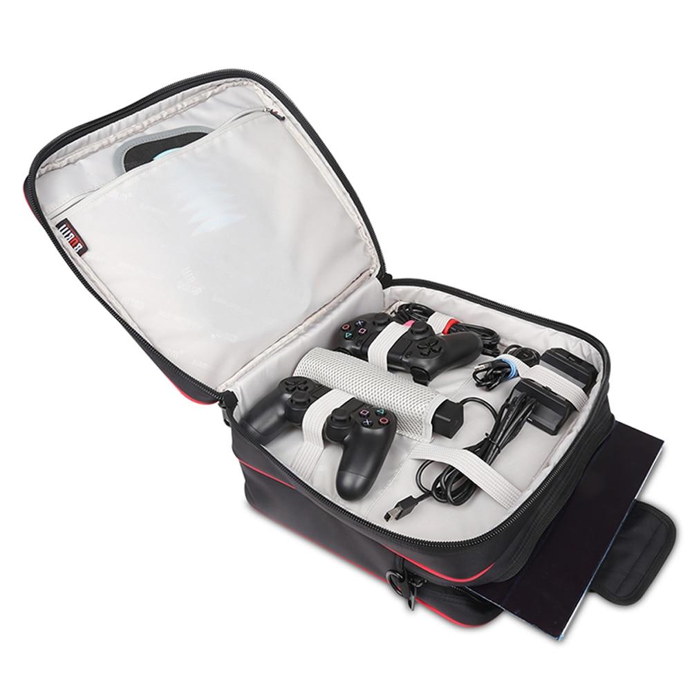 BUBM Sac Étanche Pour PS4 Playstation 4 PS4 Pro iPhone 7 Plus Voyage Carry Case Épaule Sac À Main Téléphone Chargeur