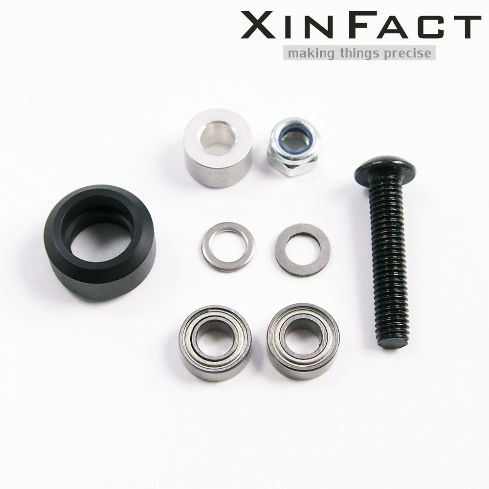 Prix pour Petit V roue Kit pour Openbuilds V-Slot rail, OX CNC, V Slot, mini roue pleine-Lot20