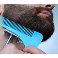 1Pc Beard Bro Beard Trimmer Shaping Tool Sex Man Gentleman Beard Trim Template Beard Combs Shaving Hair Molding L-BT01B