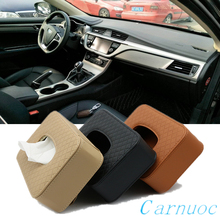 Car sun visor tissue box for most car multi-function decoration supplies
