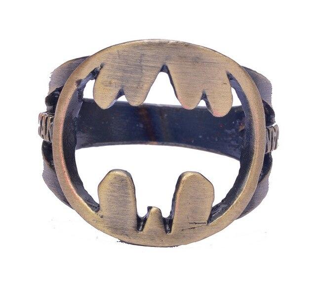 Кольцо с логотипом Бэтмен 18 мм 3