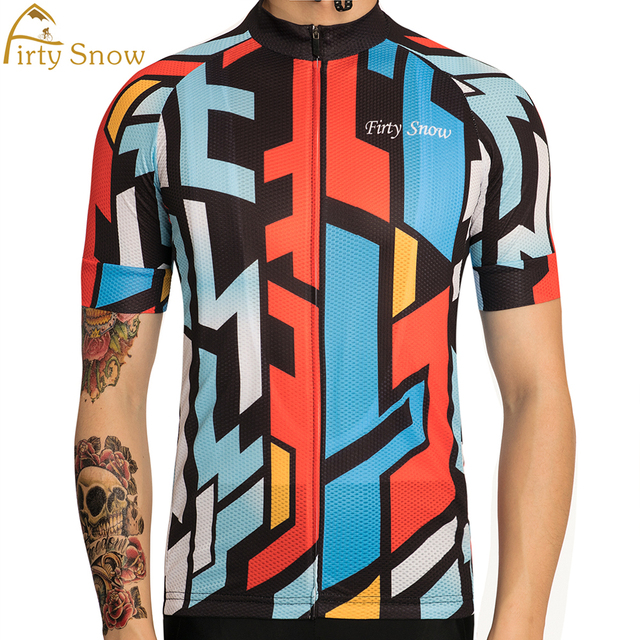 3dc543452 Firty snow 2018 Country Model Cycling Jersey Summer MTB Bicycle Clothing  Ropa Maillot Ciclismo Bike Clothes Sportswear  DX-05