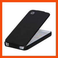 Hot Selling Original HOCO Duke Advanced Real Leather Case For Iphone 5 Free Shipping MOQ 1PCS