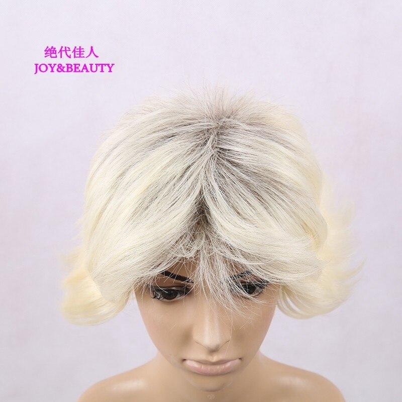 Glädje och skönhet hår värmebeständigt syntetiskt hår kinky - Syntetiskt hår - Foto 5