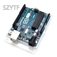 New And Original UNO R3 ATMega328P Arduino UNO R3 ATMega328 Official Genuine With Cable Free Shipping