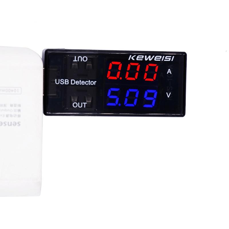 USB áramfeszültségmérő mérőóra USB feszültségmérő - Mérőműszerek - Fénykép 2
