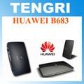 Original desbloqueado huawei b683 3g 21.6 7.2mbps wcdma 900/2100 mhz hspa + wireless gateway router wlan roteador sem fio