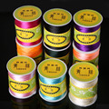 Jewelry Findings 1.5mm 70M/roll nylon Cord Satin Braided String Mixed 21 Colors Beading Cord Rope Thread