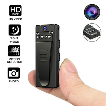 Camsoy Mini Night Vision Camera Infrared Motion Detection Full HD 1080P Surveillance DVR Video Camcorder Micro Security DV Cam