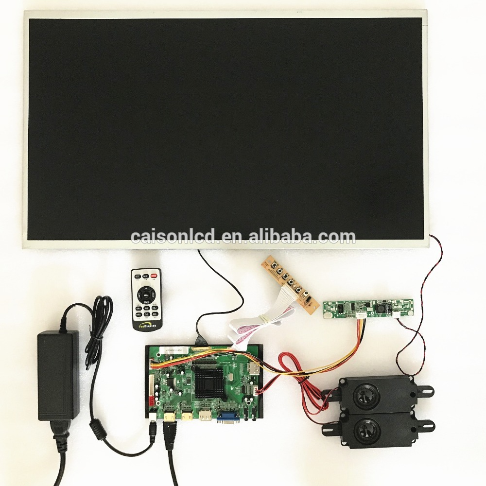 2HDMI+VGA+DP+Audio 4K  board support 23.8 inch lcd module with 3840*2160 touchstone teacher s edition 4 with audio cd