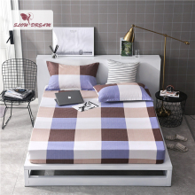 Slowdream 1PCS Elastic Band Bed Sheet Simple Style Fitted Rubber Adult Queen Single Corners