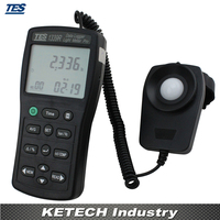 Регистратор данных свет метр тестер 0.01 до 999900 лк pc запись данных TES1339R