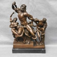 Bi002036 14 бронзовая мифологическая скульптура греческого морского Бога художественная статуя