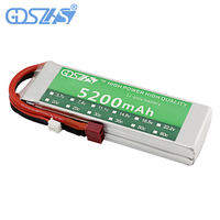GDSZHS Power 7 4V 5200mAh Lipo Battery 30C 2S Battery 2S LiPo 7 4 V 5200