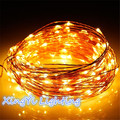 4M 40 LEDS Battery Powered Decoration LED Neon Copper Wire Fairy String Lights Lamps for Christmas Holiday Wedding Party